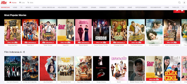 Rekomendasi Situs Nonton Film Streaming Terbaik Indonesia
