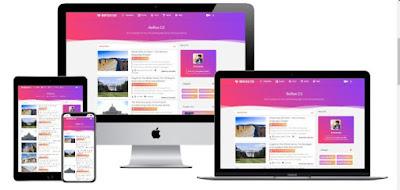 Reflex CS Premium Responsive Blogger Template