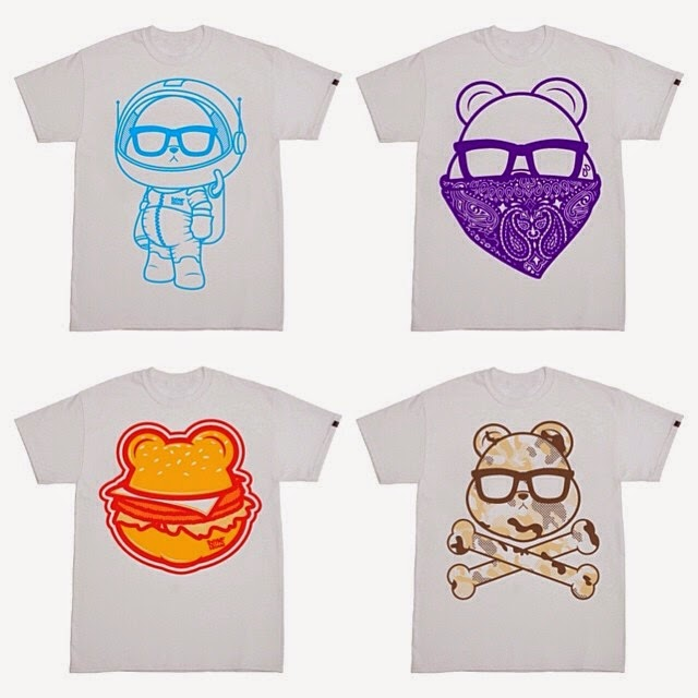 RhymeSquare Spring '14 T-Shirt Collection - AstroBear, Crypted, Bear'N'Bun & CamoBear
