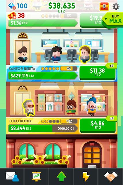 Cash, Inc. Money Clicker Game and Business Adventure Mod Apk (Money)