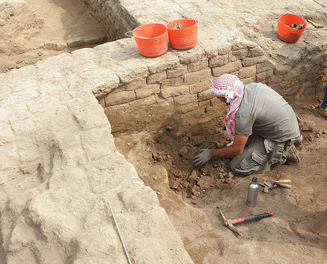 Hundreds of cuneiform tablets unearthed in ancient Mesopotamian city of Marad
