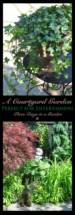 A Courtyard Garden Perfect for Entertaining