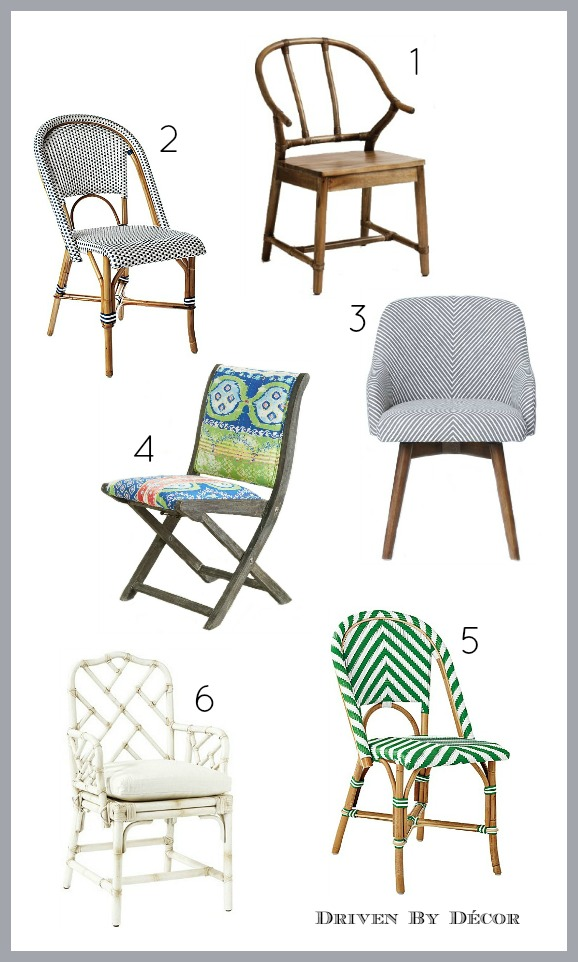 World Market S Natural Bowen Wishbone Chair 2 Serena Lily Riviera Side 3 West Elm Saddle Office 4 Anthropologie Suzani Terai Folding