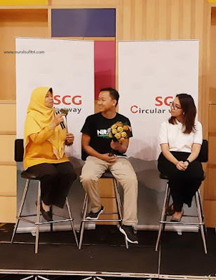 cara tips terapkan gaya hidup ekonomi sirkular dalam kehidupan sehari hari nurul sufitri travel lifestyle blogger review info scg indonesia