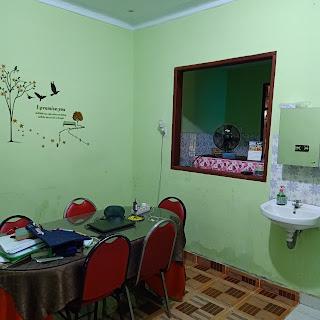 Ruang Makan Jual Rumah Murah Bentuk Kantong Pasti Bawa Rejeki Di Jl Karya Wisata Ujung Medan Johor Sumatera Utara