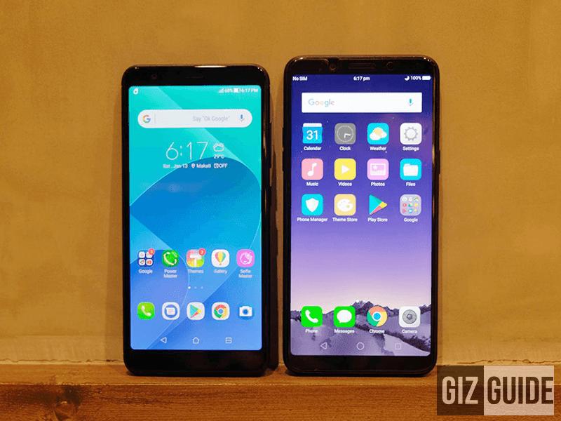 ASUS ZenFone Max Plus M1 vs OPPO F5 Youth Specs Comparison