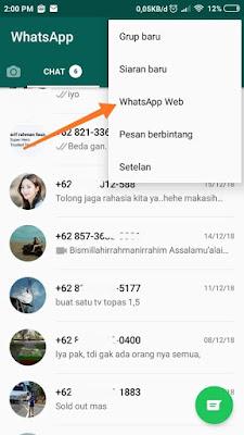 Cara WhatsApp di Tablet Android