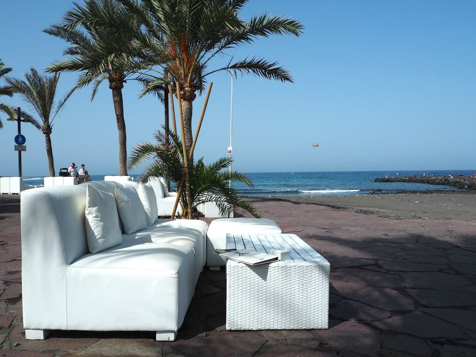 chill out zone beach club tenerife