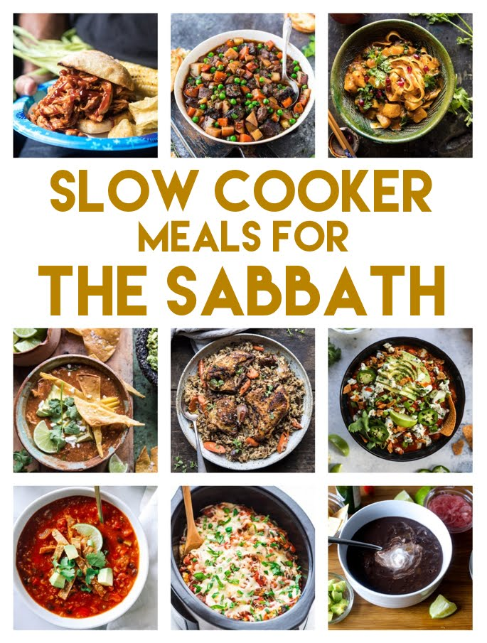 Slow Cooker Sabbath Meal Recipes