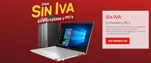 Top 10 ofertas Días sin IVA en portátiles y PCs Worten