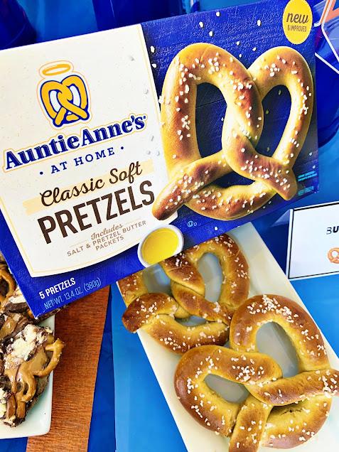 Auntie Anne's Pretzels for Father's Day @michellepaigeblogs.com