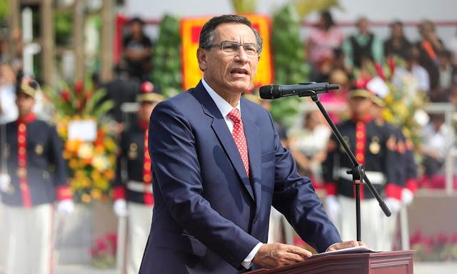 Presidente de la República, Martín Vizcarra Cornejo