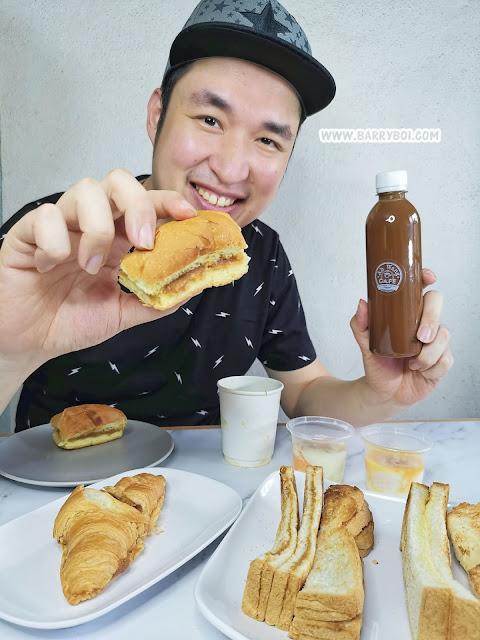 Penang Blogger Ah Wang Cafe foodpanda Penang Food Coffee