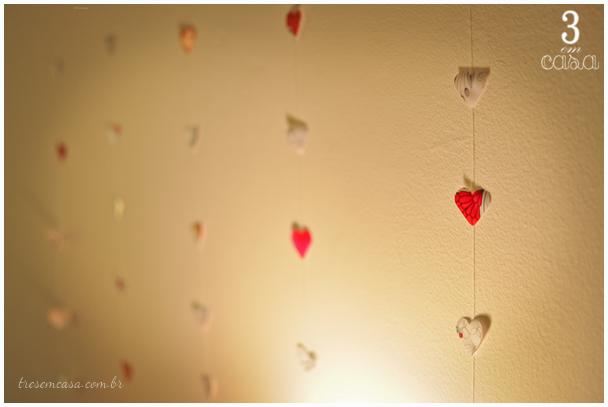decoração noite romântica