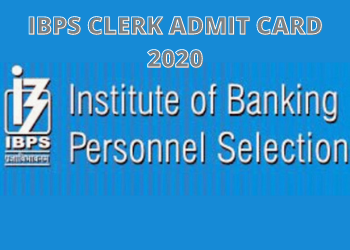 IBPS ADMIT CARD DOWNLOAD 2020