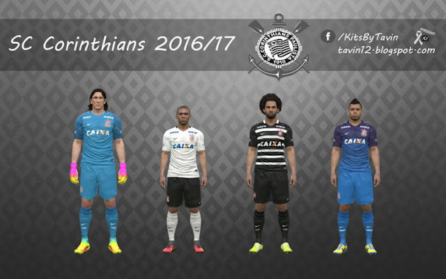 Sport Club Corinthians Kit 2016-2017 PES 2017