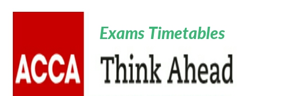 June 2019 ACCA Exams Dates and Timetable