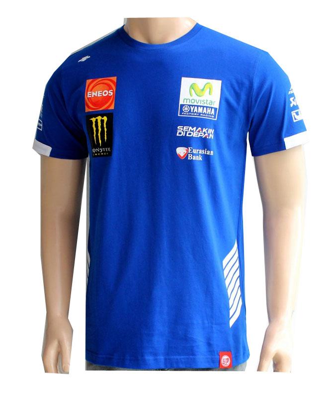 Kaos / T Shirt Yamaha Movistar 2016. Rp 140.000