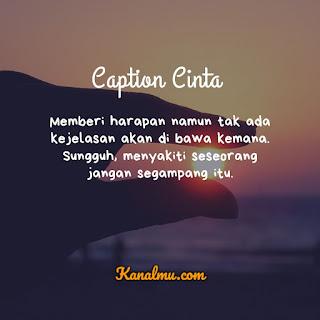 Caption Cinta Keren