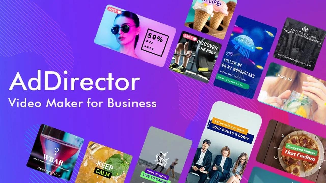كن فريق التسويق الخاص بك وأنشئ مقاطع فيديو جذابة للتفاعل مع عملائك باستخدام Ad Director، صانع الفيديو متعدد الإمكانات المصمم خصيصًا للشركات
