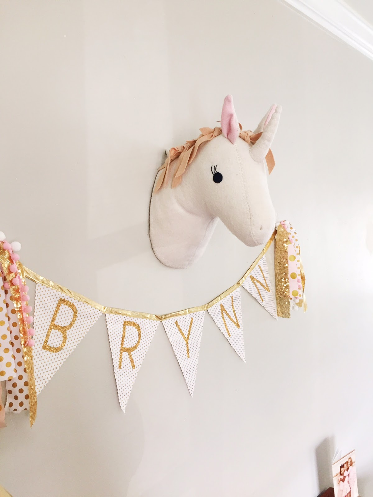 BUSHEL & PECK: Brynn's Pink Unicorn Party