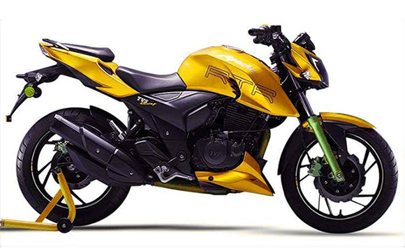 New TVS Apache RTR 200 4V side Hd Pictures
