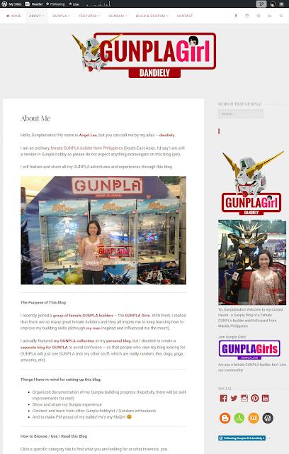 GUNPLA Girl dandiely