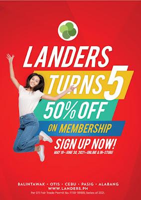 Landers Anniversary