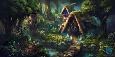 Witch's Cottage de Angelina Andreas
