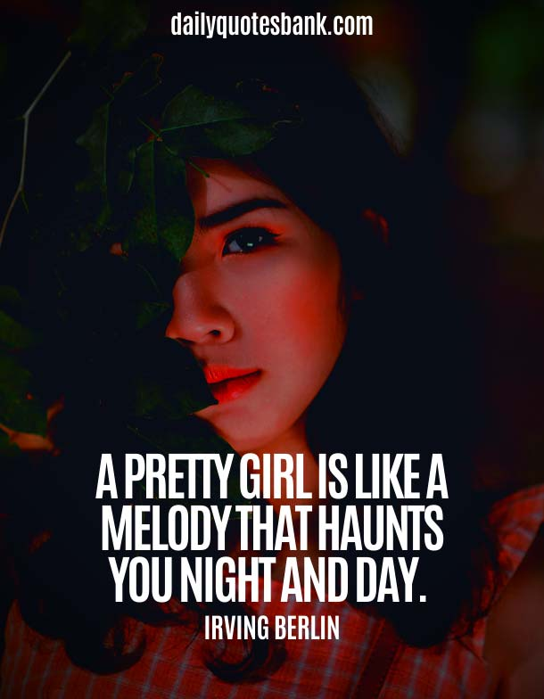 Famous Quotes About Beauty Of Girl and Woman