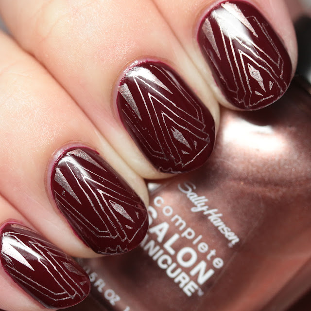 Sally Hansen Complete Salon Manicure New Winter 2016 Colors stamping