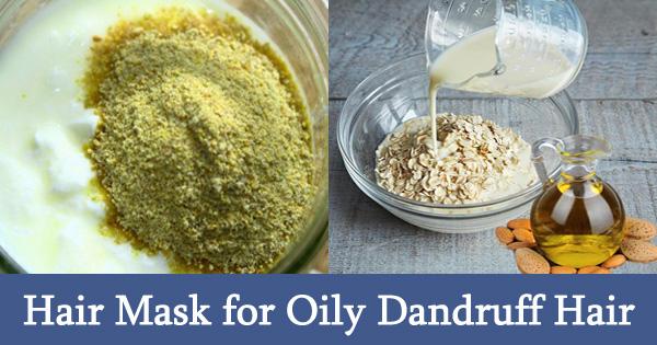 Hair Mask for Oily Dandruff Hair