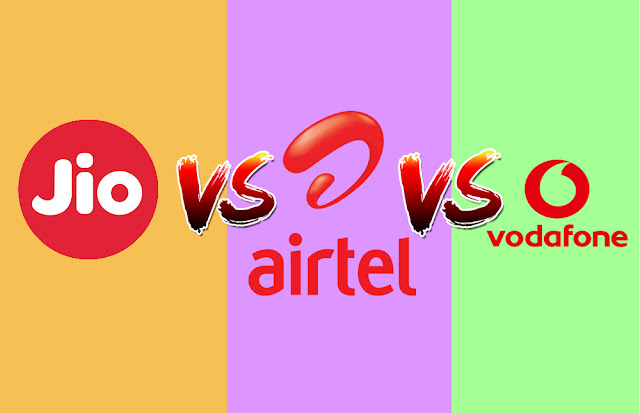 Airtel vs. Jio vs. Vodafone: Which companies to get cheapest monthly Prepaid Plan