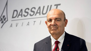 Eric Trappier, CEO of Dassault Aviation, the company that produces the Rafale fighter plane