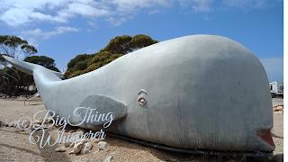 The Eucla Whale Sculpture | Australian BIG Things