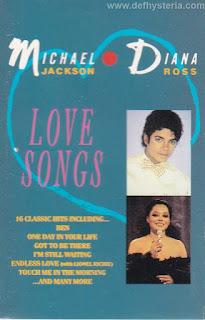 Michael Jackson & Diana Ross Love Songs Audio Kaset Motown catnr. 530 010 4