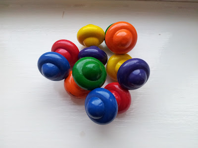 wooden toy, Manhattan toy, wooden beads