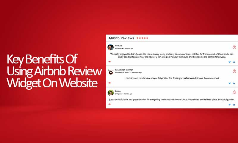 Benefits Of Using Airbnb Review Widget On Website