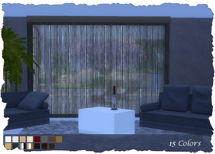 My Sims 4 Blog Curtains By Devilicious