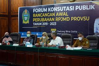 Pemprov Sumut Pastikan Program Prioritas Tetap Berjalan, Meski Terjadi Penyesuaian Target di RPJMD