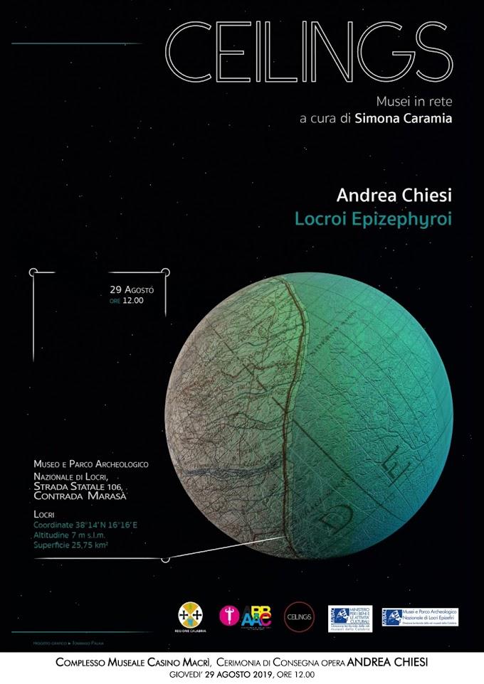 Locri (RC): intervento di Andrea Chiesi dal titolo Locroi Epizephyroi