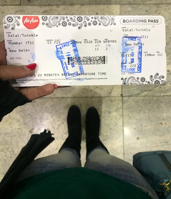 Casual Abstractions, Mumbai Airport, Boarding Pass