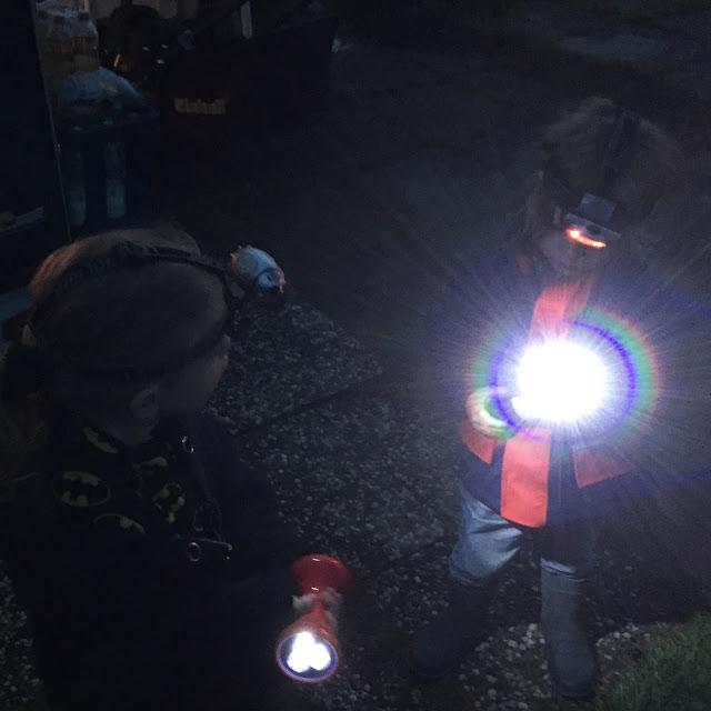 Urlaub mit zwei Kleinkindern - Nachtwanderung