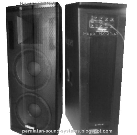 Harga Speaker Aktif Huper HZ 215A 15 Inchi 3 Ways