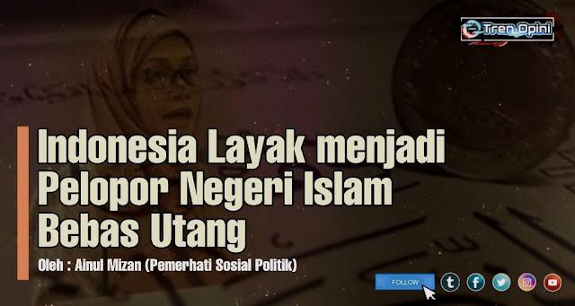 Menkeu, Sri Mulyani membela diri tatkala dikritik terkait utang Indonesia. Ia menyatakan bahwa semua negara islam juga berutang. Di antaranya ada Qatar, Maroko, Saudi, Kazakhstan, Afghanistan, dan Pakistan, imbuhnya