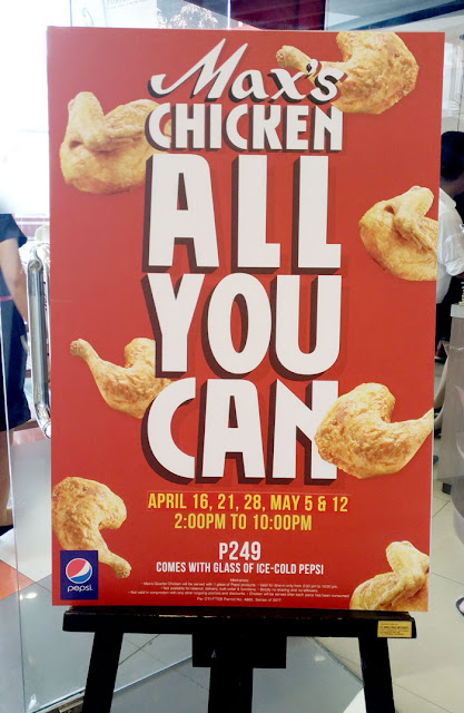 Max's Restaurant Chicken-All-You-Can Is Back This Summer! - Davao City