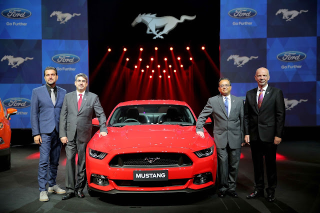 Ford Brings Iconic Ford Mustang to India