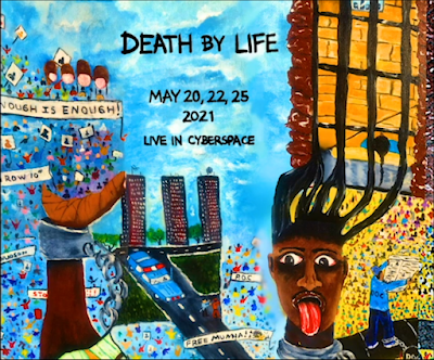 White Snake Projects: Death by Life - Artwork by Renaldo Hudson