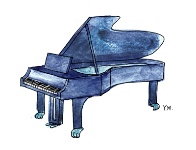 Piano by Yukié Matsushita