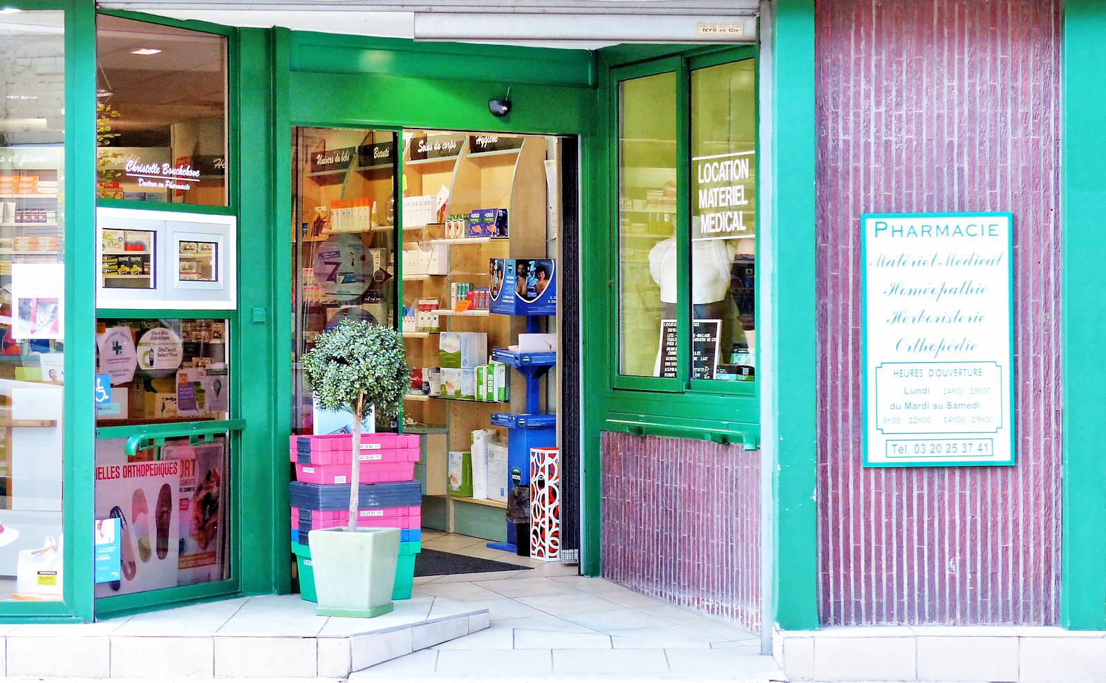 Pharmacie Bouckehove, Tourcoing - Entrée